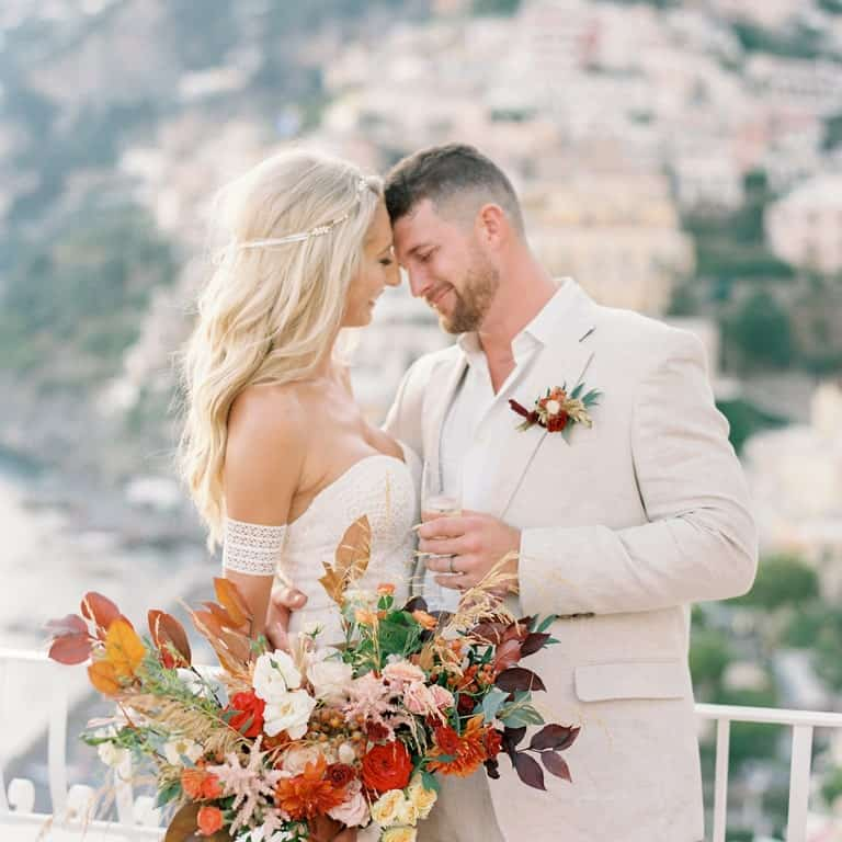 dreamy wedding positano