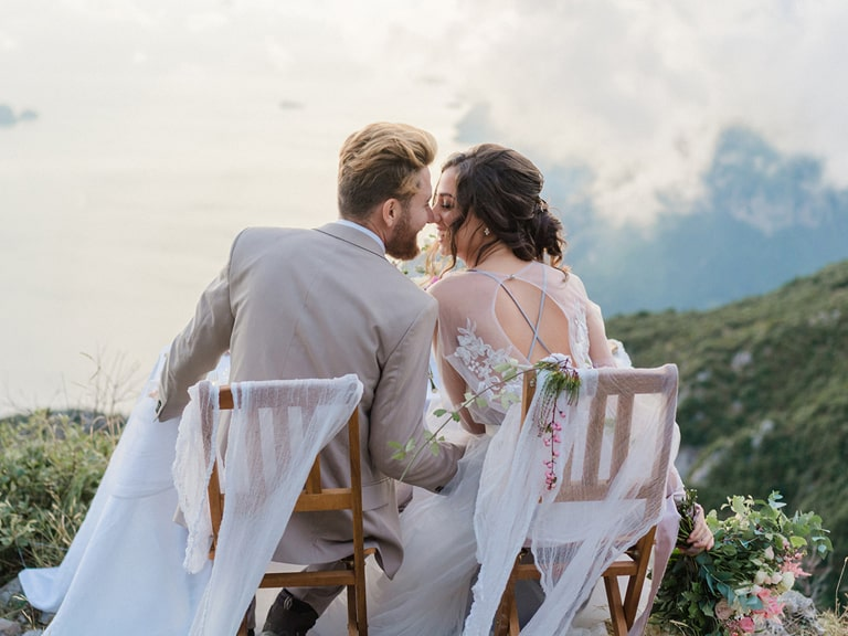 wedding positano amalfi coast elopement